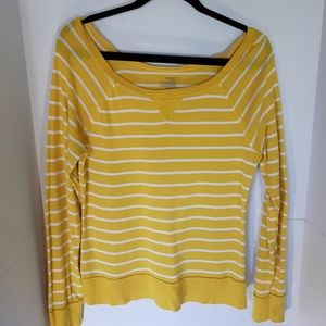 Old Navy wide scoop neck long sleeve top. Large